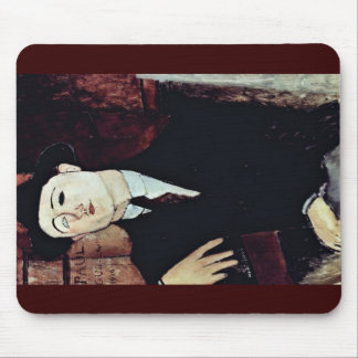 Portrait Of Paul Guillaume By Modigliani Amedeo Mouse Pads