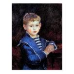 Portrait of Paul Haviland by Pierre Renoir Post Cards