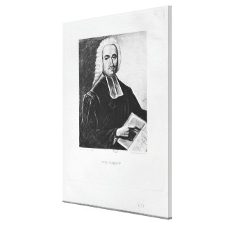 Portrait of Paul Rabaut Canvas Print