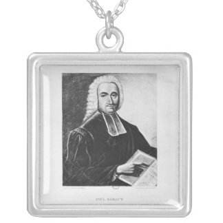 Portrait of Paul Rabaut Silver Plated Necklace