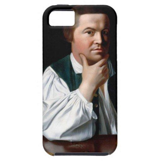 Portrait of Paul Revere iPhone 5 Cover