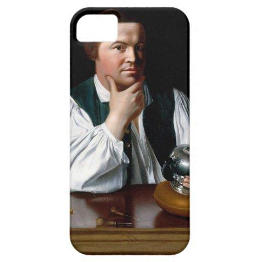 Portrait of Paul Revere iPhone 5 Case