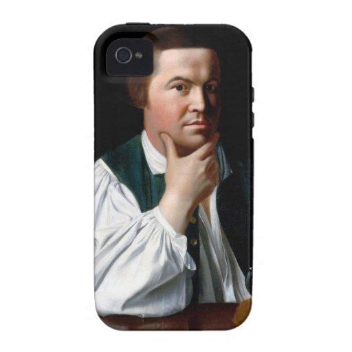 Portrait of Paul Revere Case-Mate iPhone 4 Covers