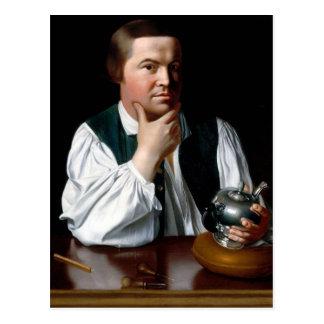 Portrait of Paul Revere Postcard