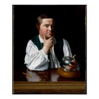 Portrait of Paul Revere Poster