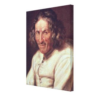 Portrait of Paul Scarron Canvas Print