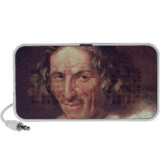 Portrait of Paul Scarron Portable Speakers