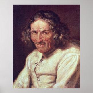 Portrait of Paul Scarron Poster