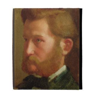 Portrait of Paul Vapincon, c.1868 (oil on panel) iPad Folio Covers