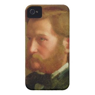 Portrait of Paul Vapincon, c.1868 (oil on panel) iPhone 4 Case-Mate Case