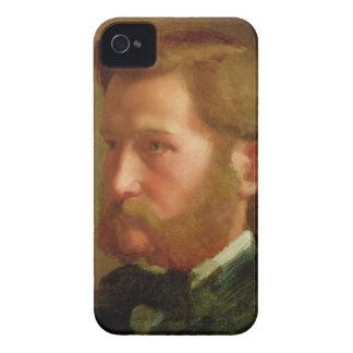 Portrait of Paul Vapincon, c.1868 (oil on panel) iPhone 4 Case-Mate Cases
