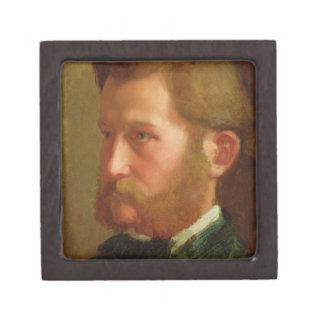 Portrait of Paul Vapincon, c.1868 (oil on panel) Jewelry Box