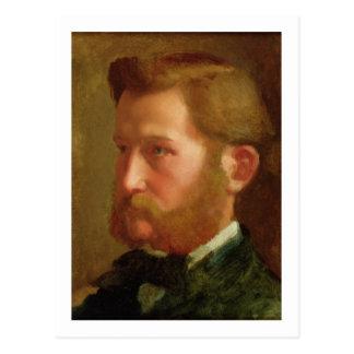 Portrait of Paul Vapincon, c.1868 (oil on panel) Postcard