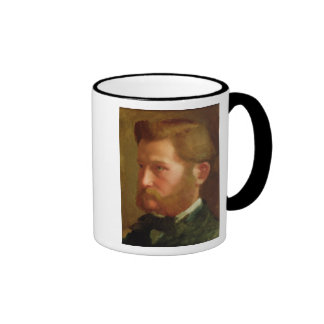 Portrait of Paul Vapincon, c.1868 (oil on panel) Ringer Mug