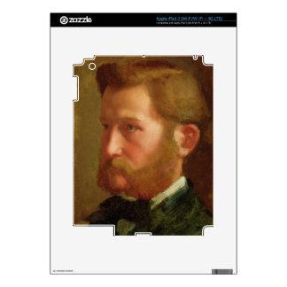 Portrait of Paul Vapincon, c.1868 (oil on panel) Skins For iPad 3