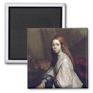 Portrait of Pauline Ono Magnet