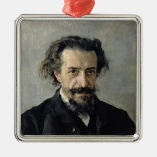 Portrait of Pavel Blaramberg  1888 Metal Ornament