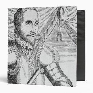 Portrait of Pedro de Valdibia Binder