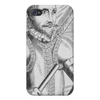 Portrait of Pedro de Valdibia Covers For iPhone 4