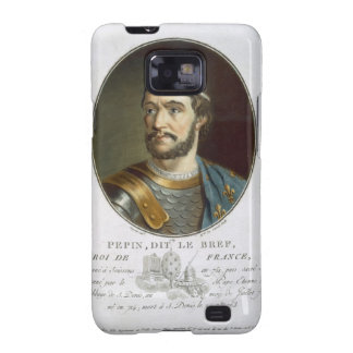 Portrait of Pepin, Called 'Le Bref', King of Franc Galaxy S2 Case