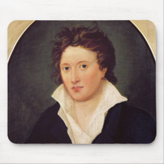 Portrait of Percy Bysshe Shelley, 1819 Mouse Pad