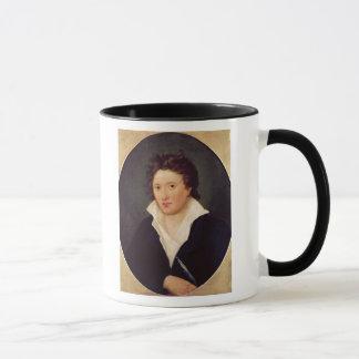 Portrait of Percy Bysshe Shelley, 1819 Mug