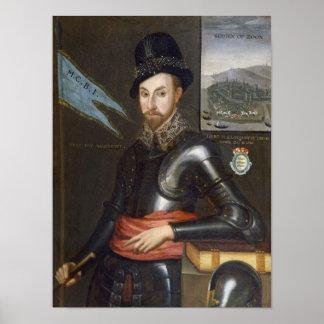 Portrait of Peregrine Bertie Poster