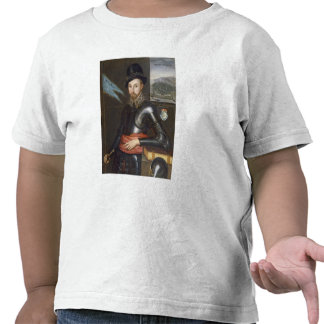 Portrait of Peregrine Bertie T-shirts