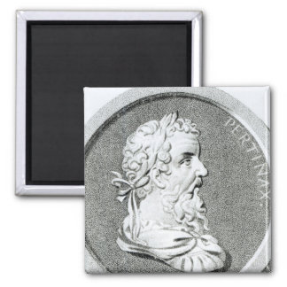 Portrait of Pertinax 2 Inch Square Magnet