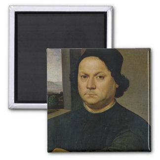 Portrait of Perugino, c.1504 (tempera on wood) Magnet