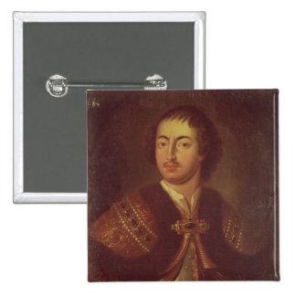 Portrait of Peter I Button