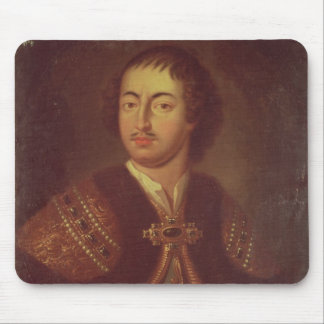 Portrait of Peter I Mouse Pad
