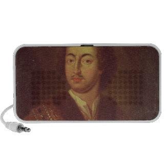 Portrait of Peter I Portable Speaker