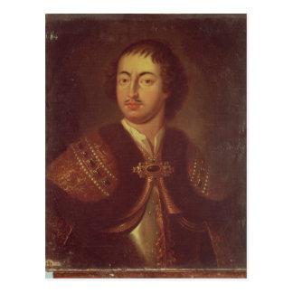 Portrait of Peter I Postcard