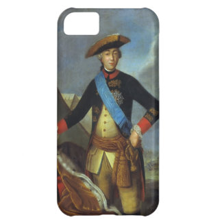 Portrait of Peter III of Russia by Fyodor Rokotov iPhone 5C Covers