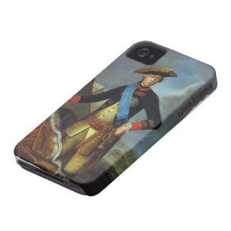 Portrait of Peter III of Russia by Fyodor Rokotov iPhone 4 Case-Mate Cases