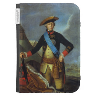 Portrait of Peter III of Russia by Fyodor Rokotov Kindle Cover