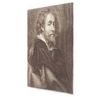 Portrait of Peter Paul Rubens (1577-1640) plate 30 Canvas Print