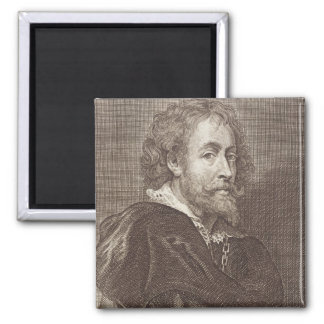Portrait of Peter Paul Rubens (1577-1640) plate 30 Magnet
