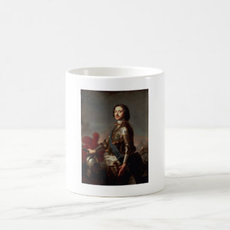 Portrait of Peter the Great Coffee Mug