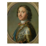 Portrait of Peter the Great Postcard