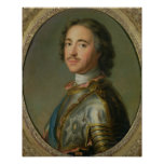 Portrait of Peter the Great Poster
