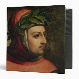 Portrait of Petrarch 3 Ring Binder
