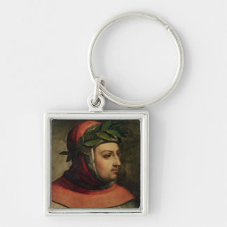 Portrait of Petrarch Keychain