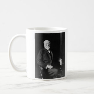Portrait of Philanthropist Andrew Carnegie Coffee Mug
