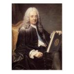 Portrait of Philibert Orry  by Maurice de La Tour Postcard