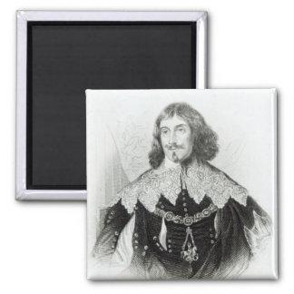 Portrait of Philip Herbert 2 Inch Square Magnet
