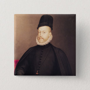 Portrait of Philip II  c.1580 Pinback Button