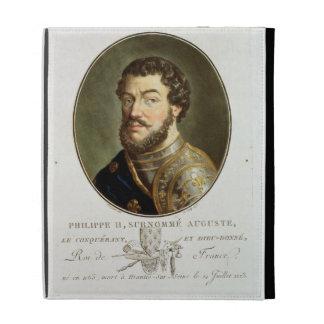 Portrait of Philip II, Called Augustus, King of Fr iPad Folio Cover