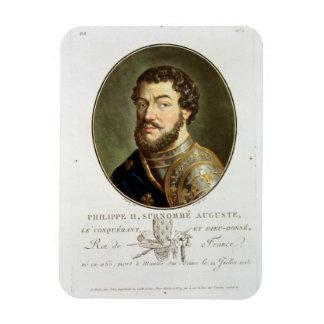 Portrait of Philip II, Called Augustus, King of Fr Magnet